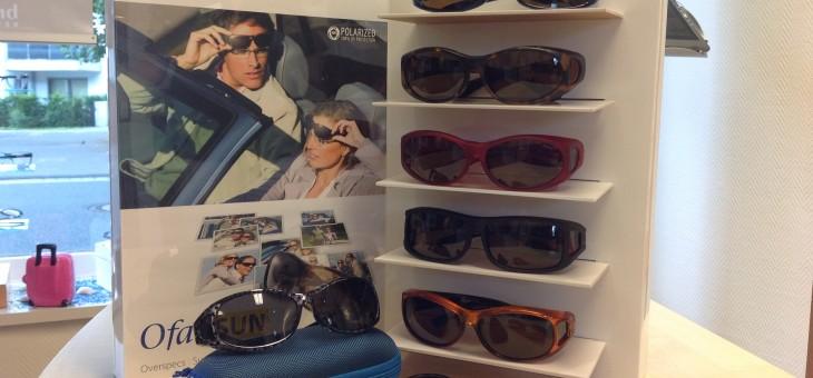 Die neuen Aufsetzsonnenbrillen sind da