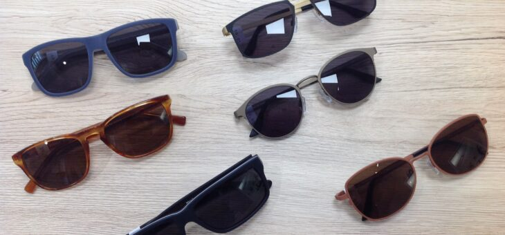 Unsere neuen Sonnenbrillen aus Münster.